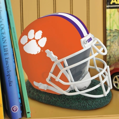 Clemson Helmet Shaped Bank
