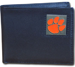 Clemson Leather Bifold Wallet (F)