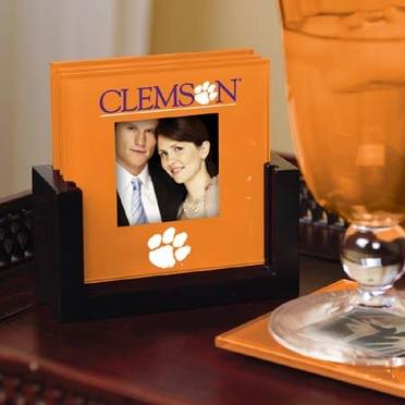 Clemson Photo Coaster Set