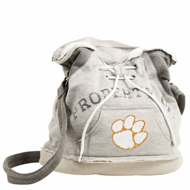 Clemson Property of Hoody Duffle
