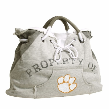 Clemson Property of Hoody Tote