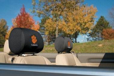 Clemson Set of 2 Headrest Covers (F)