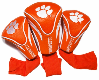 Clemson Set of Three Contour Headcovers