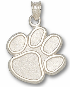 Clemson Sterling Silver Pendant