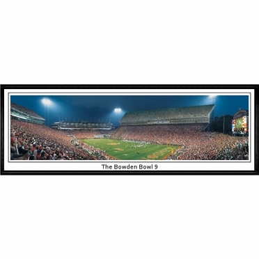 Clemson The Bowden Bowl 9 Framed Panoramic Print