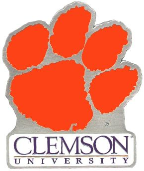 Clemson Tigers Hitch Cover Class 3