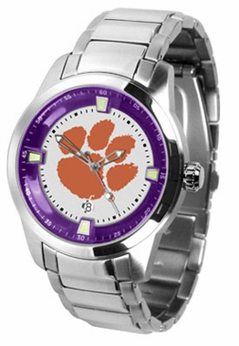 Clemson Titan Men's Steel Watch