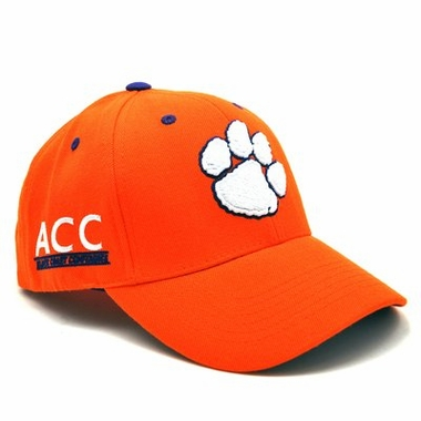 Clemson Triple Conference Adjustable Hats
