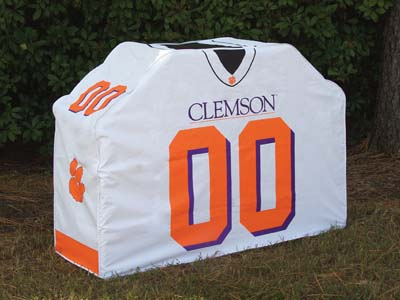 Clemson Uniform Grill Cover