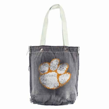 Clemson Vintage Shopper (Denim)