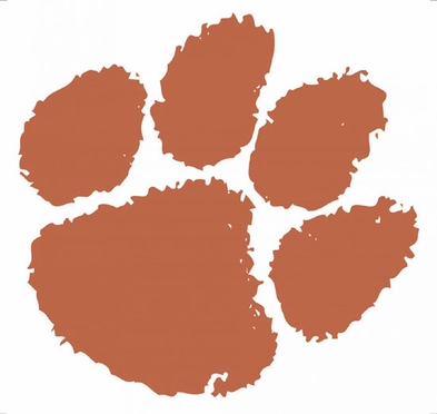 Clemson Wallmarx Large Wall Decal