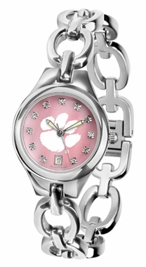 Clemson Women's Eclipse Mother of Pearl Watch