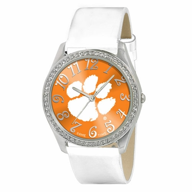 Clemson Women's Glitz Watch