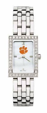 Clemson Women's Steel Band Allure Watch