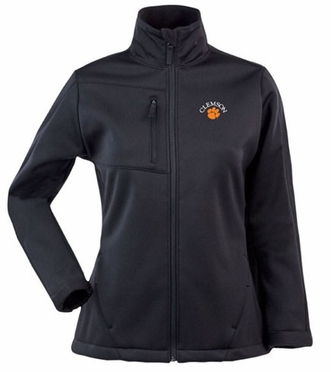 Clemson Womens Traverse Jacket (Team Color: Black)