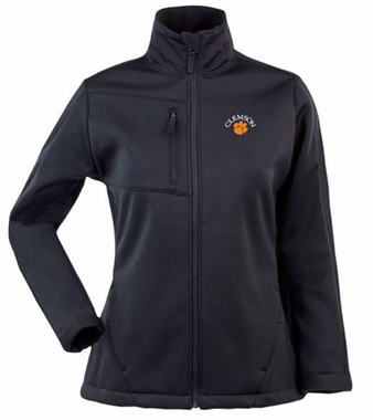 Clemson Womens Traverse Jacket (Color: Black)