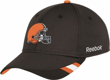 Cleveland Browns 11 Sideline Structured Flex Hat