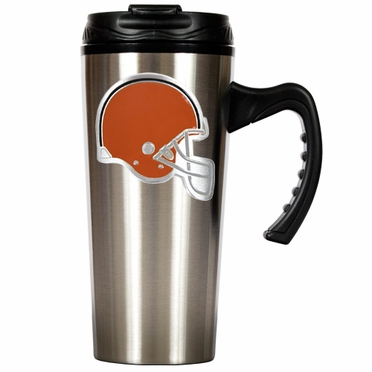 Cleveland Browns 16 oz. Thermo Travel Tumbler (Slim)