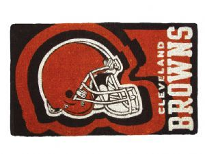 Cleveland Browns 18x30 Bleached Welcome Mat