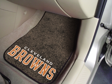 Cleveland Browns 2 Piece Car Mats