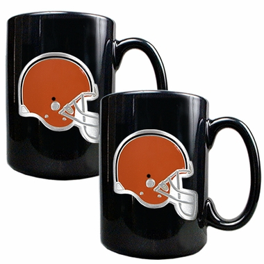Cleveland Browns 2 Piece Coffee Mug Set