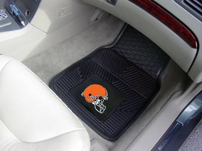 Cleveland Browns 2 Piece Heavy Duty Vinyl Car Mats