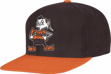 Cleveland Browns 2-Tone Vintage Snap back Hat