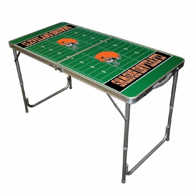 Cleveland Browns 2 x 4 Foot Tailgate Table