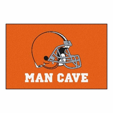 Cleveland Browns 20 x 30 Man Cave Rug