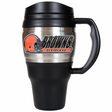 Cleveland Browns 20oz Oversized Travel Mug