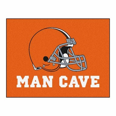 Cleveland Browns 34 x 45 Man Cave Rug