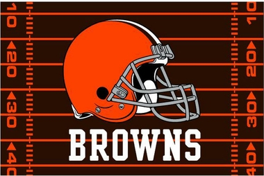 Cleveland Browns 40 x 60 Rug