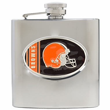 Cleveland Browns 6 oz. Hip Flask