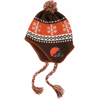 Cleveland Browns Abomination Tassel Knit Hat