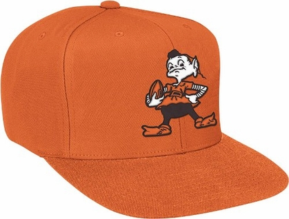 Cleveland Browns Basic Logo Snap Back Hat