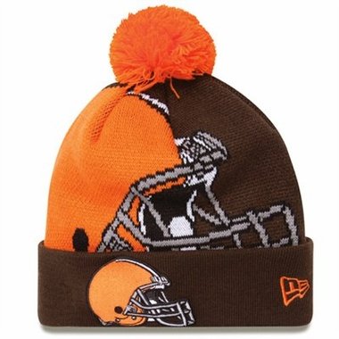Cleveland Browns Biggie Cuffed Knit Hat