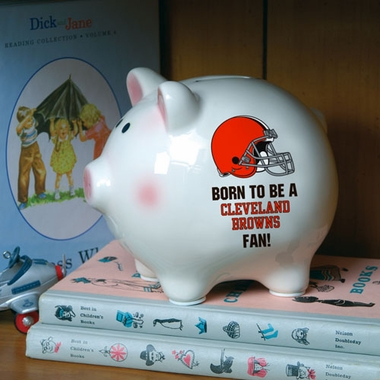 Cleveland Browns (Born to Be) Piggy Bank