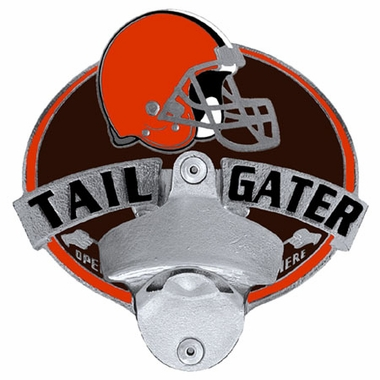 Cleveland Browns Bottle Opener Hitch Cover