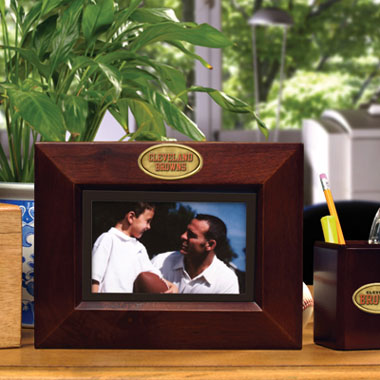 Cleveland Browns BROWN Landscape Picture Frame