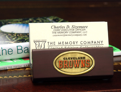 Cleveland Browns Business Card Holder