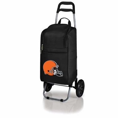 Cleveland Browns Cart Cooler (Black)