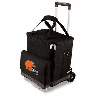 Cleveland Browns Cellar w/Trolley (Black)