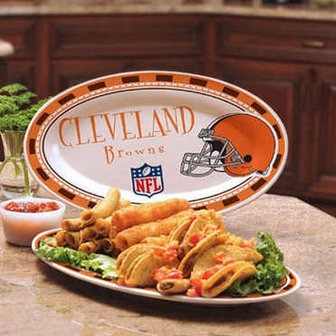 Cleveland Browns Ceramic Platter