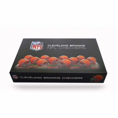 Cleveland Browns Checkers Set