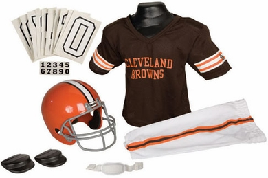 Cleveland Browns Deluxe Youth Uniform Set