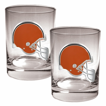 Cleveland Browns Double Rocks Set