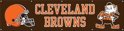 Cleveland Browns Eight Foot Banner