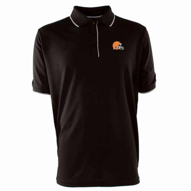 Cleveland Browns Mens Elite Polo Shirt (Team Color: Brown)