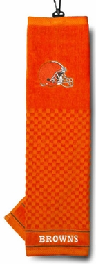 Cleveland Browns Embroidered Golf Towel