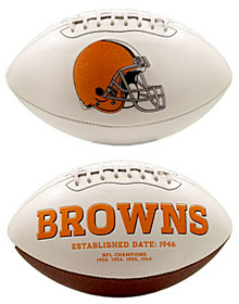 Cleveland Browns Embroidered Signature Series Football